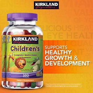 Kirkland-Signature-Childrens-Complete-Multivitamin-Gummies-160-Count-Orange-Cherry-and-Green-Apple-0